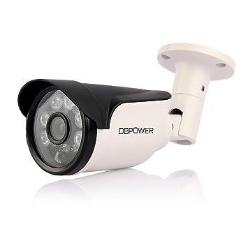 DBPOWER – Wireless Seguridad Cámara IP exterior 720P 1.0 megapíxeles y salpicaduras integrada con 8 G