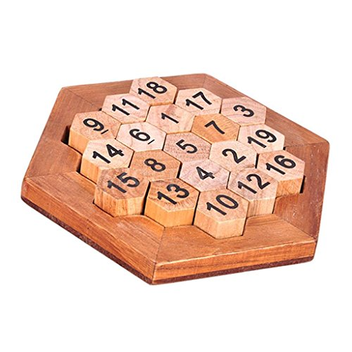 Digital Puzzle Games Learning Number Educational Wooden Party Bar Toys by uptogethertek
