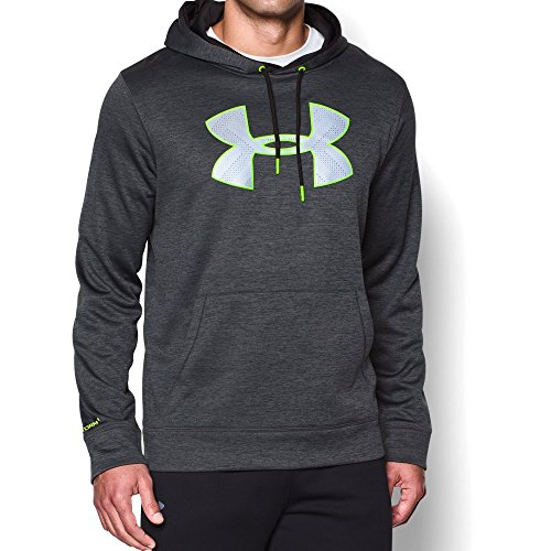 Under Armour Men's Storm Armour Fleece Twist Hoodie, Stealth Gray (008), Medium