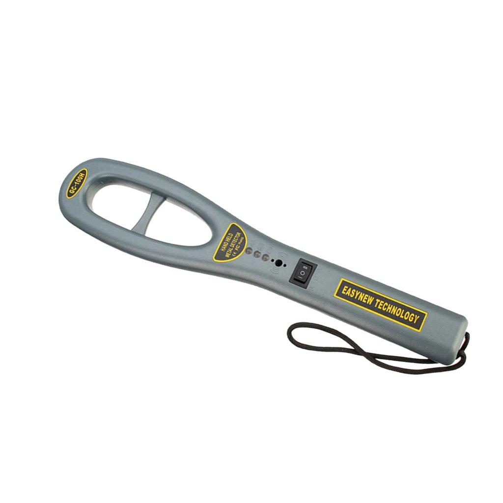 Sharplace Hand Metalldetektor Tragbarer Metallsuchgerä t fü r Flughafen