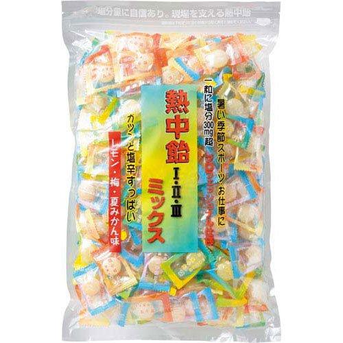 井関食品 熱中飴アソート1kg×3