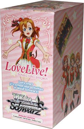 Weiss Schwarz ENGLISH Love Live! Booster BOX [20 Packs] by Weiss Schwarz