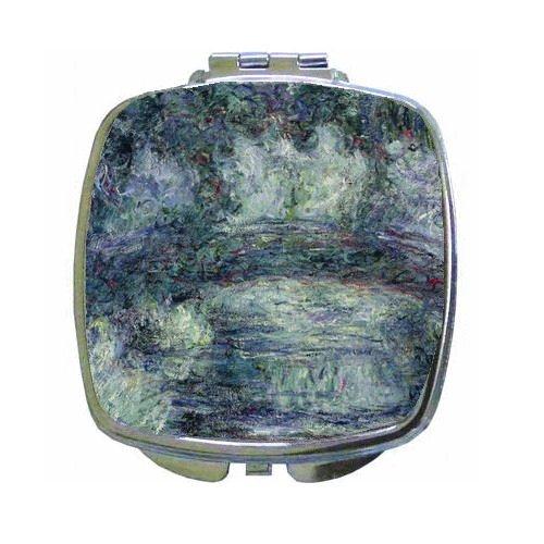 (Pont Japonais Japanilainen Silta By Claude Monet Compact Mirror )