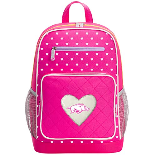 The Northwest Company Officially Licensed NCAA Arkansas Razorbacks Fanclub Backpack, Pink, 18