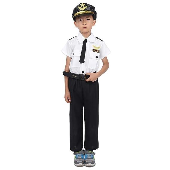 Agoky Disfraz de Piloto para Niño Chico Cosplay Uniforme de ...
