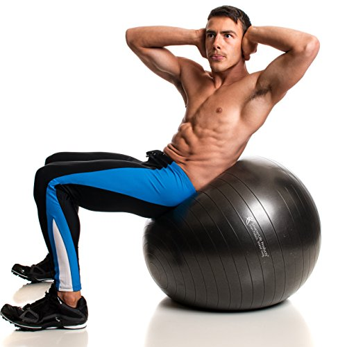 Bruciare Pilates Chair Buy Online In Uae: Exercise Ball For Yoga, Pilates, Therapy, Balance