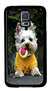 personalize Samsung Galaxy S5 case Terrier Playtime Animal PC Black Custom Samsung Galaxy S5 Case Cover