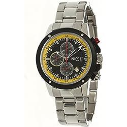 Nice Italy W1057ecb021012 Enzo Chrono Bracciale Mens Watch