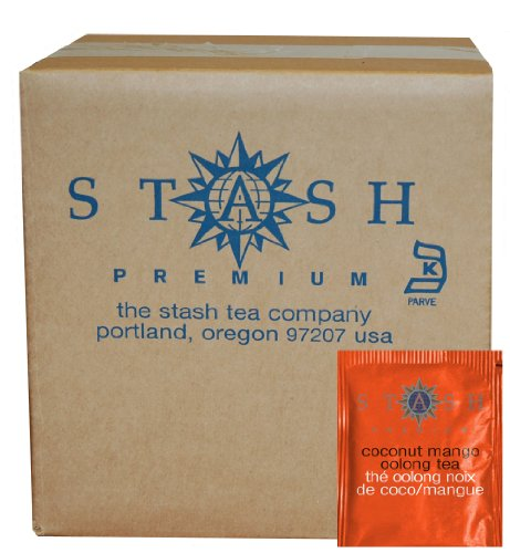 Stash Tea Coconut Oolong packaging product image