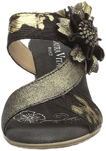 Laura Vita Ladies Bettino 17 Mules Black (noir)