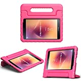 MoKo Samsung Galaxy Tab A 8.0 2017 Case - Kids Shock Proof Convertible Handle Super Protective Stand Cover Case for Galaxy Tab A 8.0 2017 (SM-T380/T385) (NOT FIT 2015 Tab A 8.0 SM-T350/P350), MAGENTA