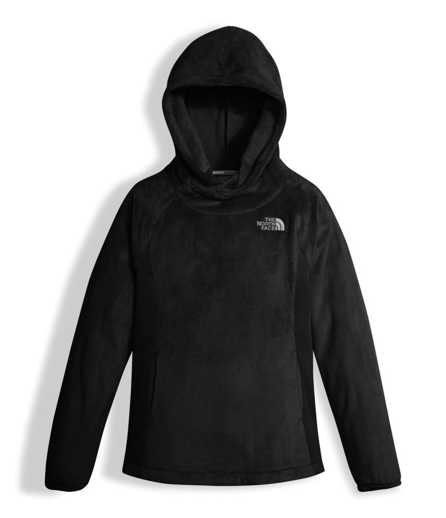 The North Face Girl's OSO Fleece Pullover - TNF Black - XL (Past Season)