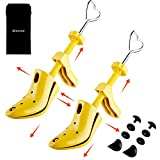 Miserwe High Heel Shoe Stretcher with Carrying Bag Pair of Professional 2-Way Instep Stretcher and Lenghth Shoe Stretcher Durable Shoe Stretchers for Women(WM'S SZ 4.5-10 )