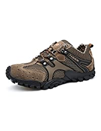 Mens Hiking Shoes Outdoor Trekking Sneakers Climbing Moutain Shoes