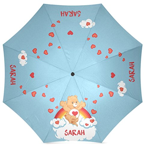 foldable-umbrella-100-polyester-pongee-waterproof-fabric-with-tender-heart-care-bear-pattern