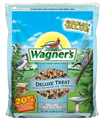 Wagner's 62067 Deluxe Treat Blend, 4-Pound Bag by Wagners