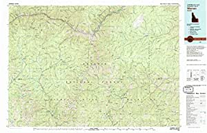 Warren ID topo map, 1:100000 scale, 30 X 60 Minute, Historical, 1981, updated 1981, 24.1 x 37.5 IN - Paper