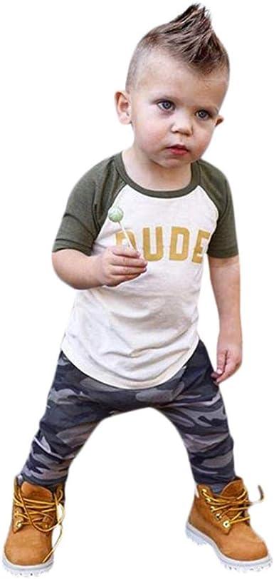 KaiCran Toddler Baby Dinosaur Hoodie Long Sleeve Handsome Camouflage Romper Bodysuit Outfits