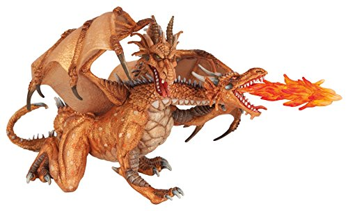 Papo Dragon Castle (Papo Two Headed Dragon Gold)