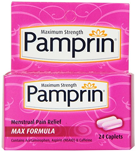 Pamprin Maximum Strength Max Formula Period Relief, 24 Caplets