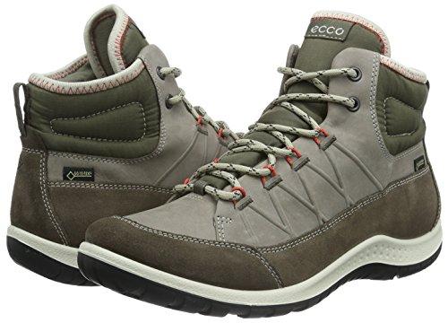 Chaussures Ecco Outdoor warm Marron Clay Aspina dark Multisport Grey56610 Femme ZZ5wqRn