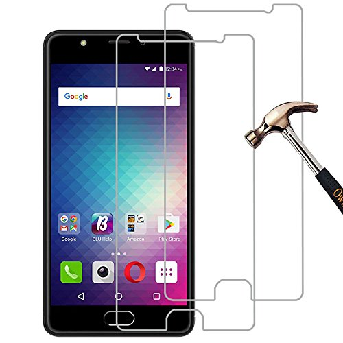 [Pack of 2] BLU Life One X2 Screen Protector, Gzerma Shockproof, Premium HD Clear, Bubble Free and Easy to Install Protective Front Cover Film for BLU Life One X 2 Smartphone 5.2 Inch