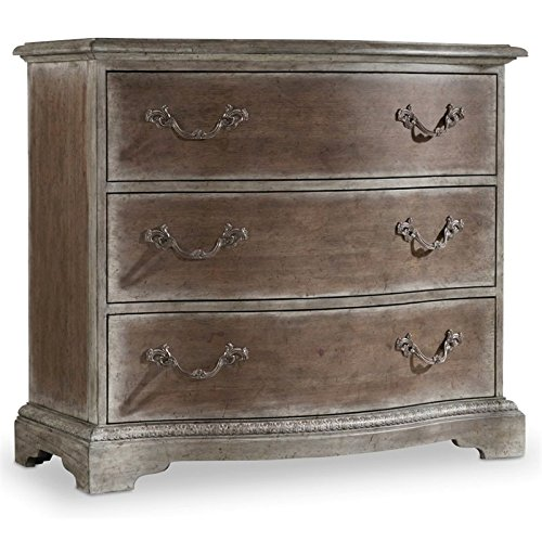 Hooker Furniture True Vintage 3 Drawer Bachelors Chest in Driftwood