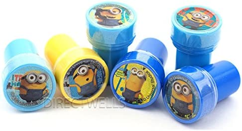 Despicable Me Minions 12 Pack Erasers Perfect for Party Bags