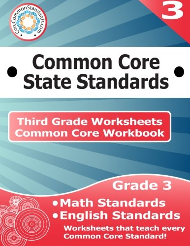 Third Grade Common Core Workbook: Worksheets