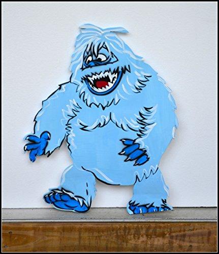 Abominable Snowman Yard Art, Winter Yard Art, Yard Art, Yeti, Bumble, Outdoor Garden Decor