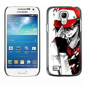 EJOY---Cubierta de la caja de protección la piel dura para el / Samsung Galaxy S4 Mini i9190 / --Empuje Monster