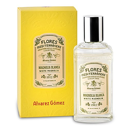 Citrus Magnolia Perfume (Alvarez Gomez Perfumes Mediterranean Flowers Eau de Toilette Spray, White Magnolia, 2.7 Fluid Ounce)