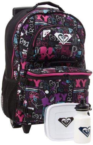 Amazon.com: Roxy Big Girls' Breakline Backpack, Black Color Combo ...