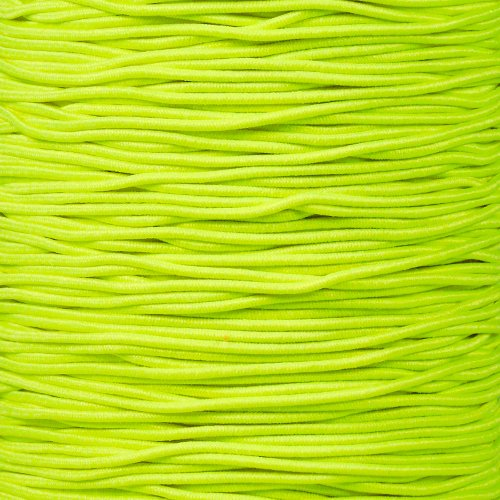 ParacordPlanet Elastic 1/16'' Diameter Stretch String Bungee Shock Cord in 10, 25, 50, 100, 250, 1000 Feet Options by ParacordPlanet