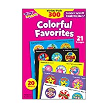 Trend Enterprises Stinky Stickers Fun and Fancy Value Pack - 1 inch - Pack of 300