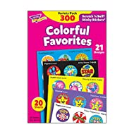 Stinky Sticker Colorful Favorites Variety Pack of 300