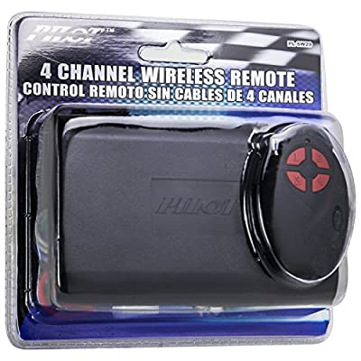 Pilot Performance Lighting PL-SW29 4 Channel Wireless Remote Switch: Automotive