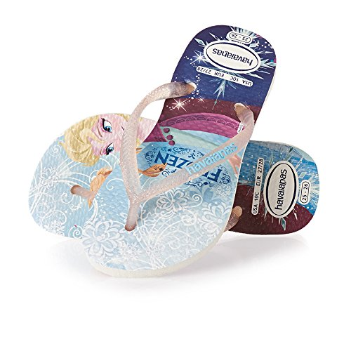 Havaianas Flip Flops Girls Slim Princess white - blue - red ufvMiwC