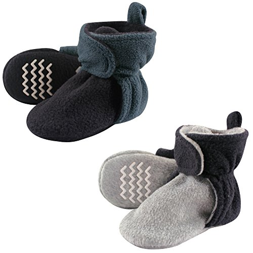 Hudson Baby Unisex-Baby Cozy Fleece Booties
