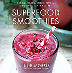 Power up the blender with New York Times bestselling author Julie Morris for an energy boost, a gentle cleanse, and a healthier lifestyle. Everyone loves smoothies—and this is the ultimate smoothie book, written by Julie Morris, author of Superfoo...