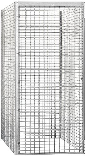 Salsbury Industries Bulk Storage Locker Single Tier Starter, 48-Inch, 60-Inch