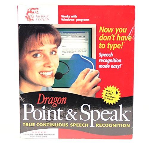 - Dragon Point & Speak - Continuous Speech Recognition Version 3.52