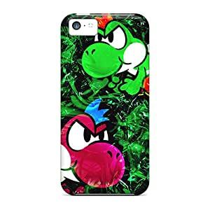 Apple Iphone 5c BqE25746nFFI Allow Personal Design High-definition Yoshi Pictures Anti-Scratch Cell-phone Hard Cover -LauraAdamicska