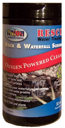 Anjon Rescue Rock and Waterfall Scrubber