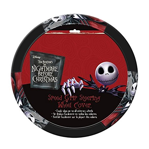 Infinity Stock Nightmare Before Christmas Jack Skellington Steering Wheel Cover - Car, Truck, SUV & Van Elite Grip, Universal Size Fit 14.5