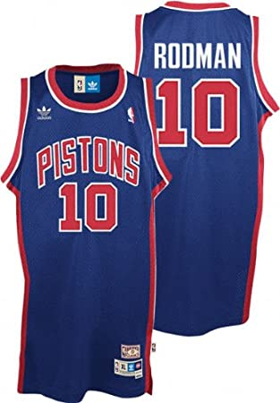 Jerseys Pistons Canada Detroit - Rodman Large Dennis Amazon Swingman team Jersey Nba