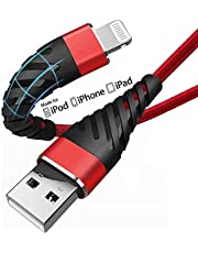 (2 Pack) Long iPhone Charger Cable 10ft for [MFi Certified],CyvenSmart 10 Foot Lightning Cable Fast Charging Cord 10 Feet for iPhone 12/11/11 Pro/11 Pro Max/XS/XS Max/XR/X/8/8 Plus/7/7 Plus/6 Plus
