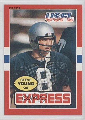 Steve Young (Football Card) 1985 Topps USFL - [Base] #65