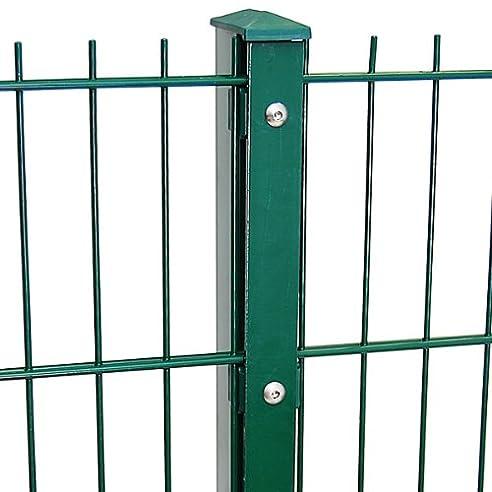 Zaun 25m Komplett-Angebot 1030mm Höhe RAL6005/grün ...