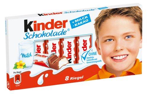 Amazon.com : Ferrero Kinder Chocolate, 8 bars : Candy And ...